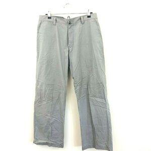 Theory Charlton Gray Straight Leg Pants
